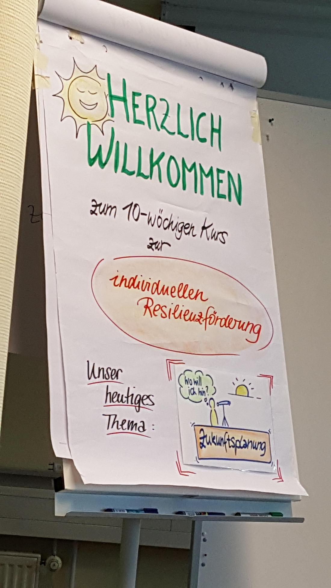 Plakat weiterbildung Resilienz
