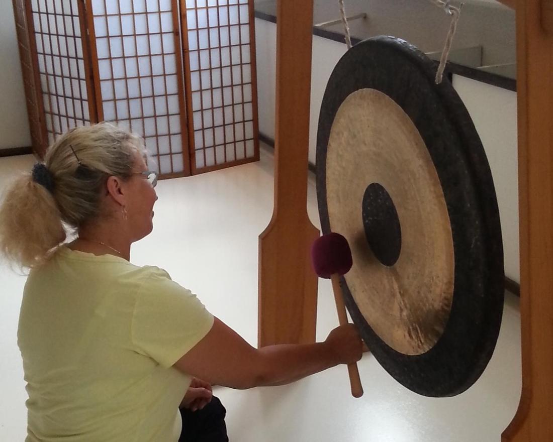 Qi Gong und Entspannung mit dem TAM TAM Gong