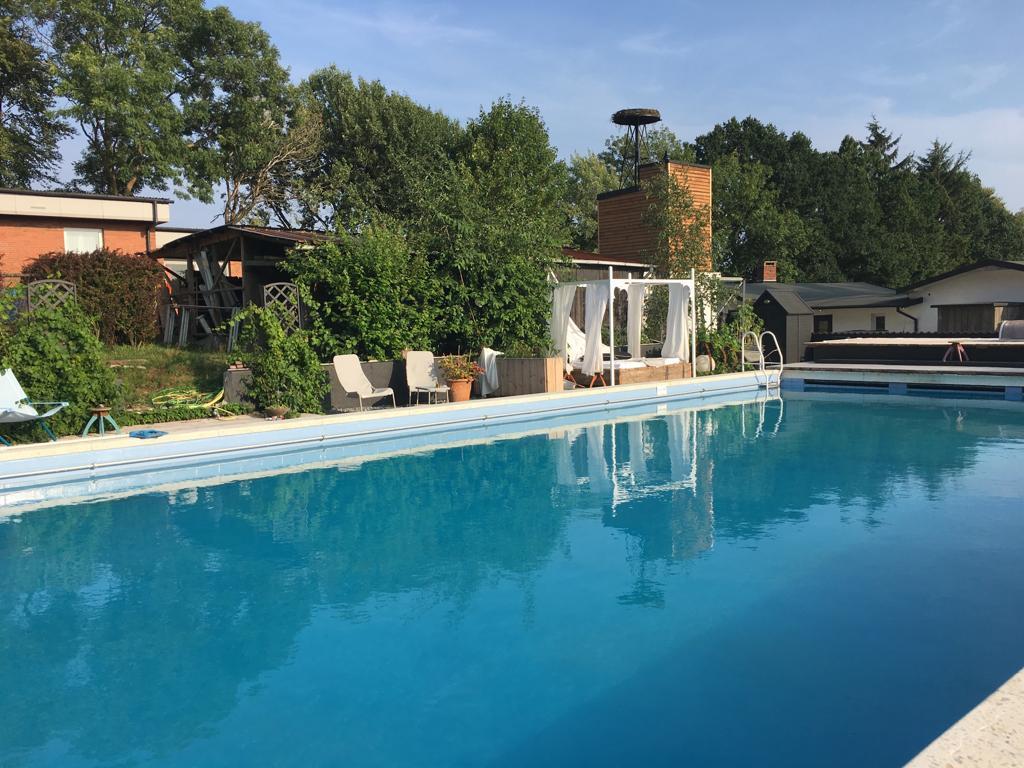 Pool im Ferienhof