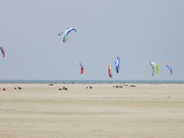 Strandsurfer von St Peter Ording