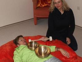 Klangmassage mit Manuela